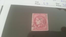 LOT 228550 TIMBRE DE FRANCE OBLITERE N�49 VALEUR 320 EUROS