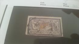 LOT 228558 TIMBRE DE FRANCE OBLITERE N�122 VALEUR 90 EUROS