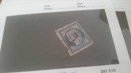 LOT 228583 TIMBRE DE FRANCE OBLITERE N�4 VALEUR 60 EUROS