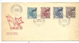 SOBRE CON MATº  FILATELISTICKA FECHADOR 2.XI-1952 ZABREB - 1945-1992 Socialist Federal Republic Of Yugoslavia