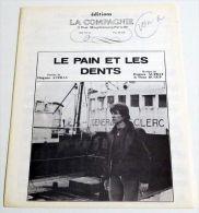 Partition Ancienne Vintage Sheet Music HUGUES AUFRAY : Le Pain Et Les Dents * 60's - Music & Instruments