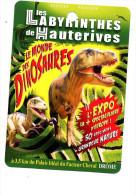 Fiche Visite Labyrinthe Hauterives Theme Dinosaure - Advertising