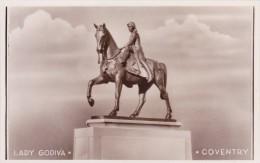 Lady Godiva,Coventry,Real Photo,England .S21. - Femmes Célèbres