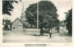 68 DANNEMARIE  Vue De La Gare - Dannemarie