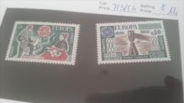 LOT 228641 TIMBRE DE ANDORRE NEUF* N�253/254 VALEUR 14 EUROS