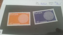 LOT 228647 TIMBRE DE ANDORRE NEUF* N�202/203 VALEUR 34,5 EUROS