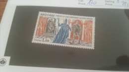 LOT 228652 TIMBRE DE ANDORRE NEUF* N�170 VALEUR 25,5 EUROS