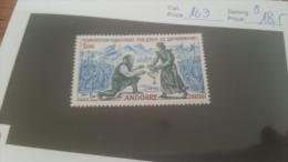 LOT 228655 TIMBRE DE ANDORRE NEUF* N�169 VALEUR 18,5 EUROS