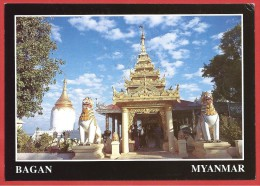 CARTOLINA NV BIRMANIA MYANMAR - BAGAN -  Bu Hpaya's Bulbous Shape - 10 X 15 - Myanmar (Burma)