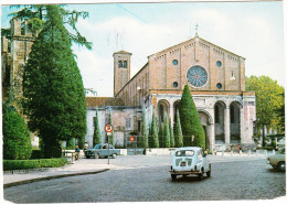 Padova: FIAT 600 & 850, ALFA ROMEO TI SEDAN - Streetscene  - Chiesa Degli Eremitani - (Italia) - Toerisme