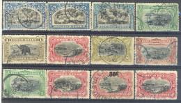 3Rv514: Restje : 12 Zegels...  Om Verder Uit Te Zoeken... - Belgian Congo