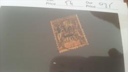 LOT 228662 TIMBRE DE COLONIE REUNION OBLITERE N�54 VALEUR 25 EUROS