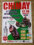 Circuit de Chimay- 6e TROPHEE INTERNATIONAL DE  MOTO CLASSIQUES  17-18 JUILLET 1999