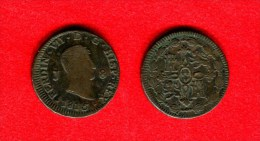 ESPAGNE - ESPAÑA - SPAIN - FERDINAND VII - FERNANDO  VII - 8 MARAVEDIS 1815 JUBIA - Espagne
