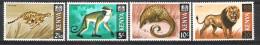 Kenya 1966-69 Wildlife Definitives MNH CV £31 (2 Scans) - Kenya (1963-...)