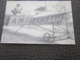 CPM >>Latham Sur Monoplan Antoinette à Son Poste De Vol>>>  Repro - Manifestazioni