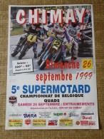 Circuit de Chimay- 5e SUPERMOTARD - Dimanche 26 septembre 1999