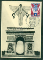 CM-Carte Maximum Card #1968-France # Histoire # 50° Anniversaire De L´Armistice # Paris - Maximumkaarten