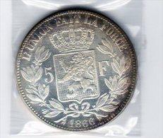 5 Francs L�opold II -  1866