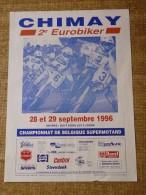 Circuit de Chimay- 2e EUROBIKER 28 et 29  Septembre 1996 - Championnat de Belgique Supermotard
