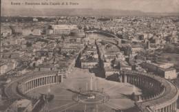 ROMA PANORAMA DALLA CUPOLA DI S PIETRO - Roma (Rome)