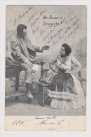 ITALIE - COUPLE - LO TURCO E BRAGAGHA - 1904 - C.A. PINI N° 501 BOLOGNE - 2 Scans - - Couples