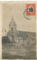 Real Photo Eglise Catholique De Colon  1912 P. Used Ship Cancel Paquebot - Panama