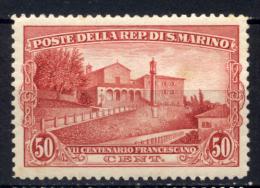 San Marino 1928 Sass.137 */MH VF/F - Unused Stamps