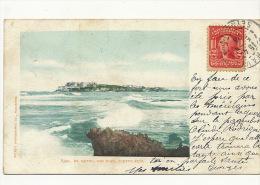 6391 San Juan Puerto Rico El Morro  P. Used Ship Cancel Paquebot Le Havre On American Stamp - Puerto Rico