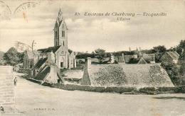 TOCQUEVILLE  ( église) - Altri Comuni