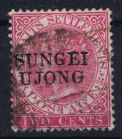 Malaya,  Sungei Ujong 1884 Mi Nr 12 II Used - Gran Bretaña (antiguas Colonias Y Protectorados)