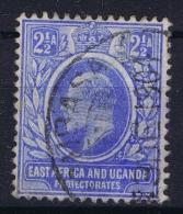 East African And Uganda Pretectorate 1903 Mi Nr 4 Used Watermark CA - Protectorados De África Oriental Y Uganda