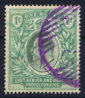 East African And Uganda Pretectorate 1904 Mi Nr 25 Used Watermark MC - Kenya, Uganda & Tanganyika