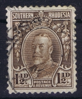 Southern Rhodesia,  Mi Nr 17 A Used Perfo 12 Some Paper On Back - Zuid-Rhodesië (...-1964)
