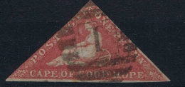 Cape Of Good Hope 1853, White Paper, Mi Nr 1Lya, Braunlichrot, Brownish Red, Cat Value 1100,- - Zuid-Afrika (...-1961)