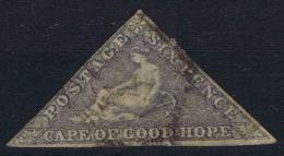 Cape Of Good Hope 1863, Mi Nr 3 II Hell Violett  Cat Value € 650 - Zuid-Afrika (...-1961)