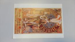 14P - Carte De Soutien Numérotée GILLES Carnaval De Binche Le Franc Du Vieillard Oeuvre Bourgmestre Deliège 2001 - Cartes