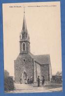 CPA - SAiNT RAOUL Prés SAINT GUER - Habitants Devant L' église - Mary Rousselière , éditeur à Rennes - N° 2799 - Zonder Classificatie