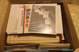 """(536)  urige Kiste"""" Mischmasch alle Welt """" von Masse bis ABO Ware und Belege ......."""