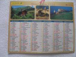 Caledriers  Vaucluse - Calendari
