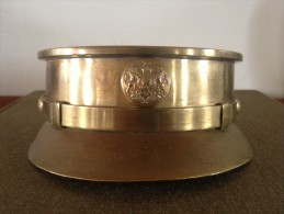 Poilus Casquette Anglaise British Obus Bouton Souvenir Grande Guerre Joseph Demarque 1914-1918 - 1914-18