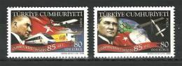 Turkey - 2008 - ( 85th Anniv. Of The Republic Of Turkey ) - Set Of 2 - MNH (**) - 1921-... República