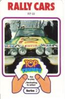 Jeu de 32 Cartes - Top Trumps - Rally Cars