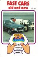 Jeu de 32 Cartes - Top Trumps - Fast Cars