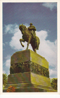 Uruguay Montevideo Monumento Al Libertador Jose Artigas Plaza In
