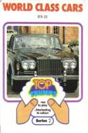 Jeu de 32 Cartes - Top Trumps - World Class Cars