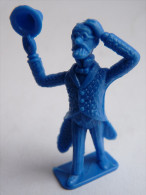 FIGURINE Tintin - Pirate PINATERIA INTECO - Origine COLOMBIE Pas Stenval - Professeur Siclone Bleu - Tintin