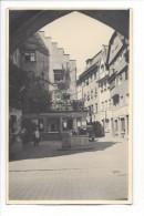 10307 -  Ville  Place Avec Fontaine Et  Vieille Voiture Mimosa  1940-45 - Te Identificeren