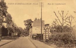 59 Saint André Les Lille. Rue De Lambersart - France