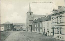 BELGIQUE AISEAU / La Place Vers L'Eglise / - Aiseau-Presles